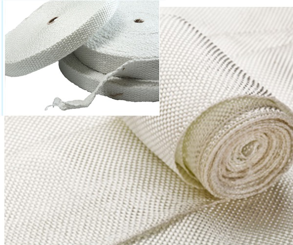 Băng vải ceramic chịu nhiệt độ cao.